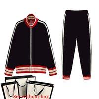 Tracksuits hommes costume Femmes Ensembles Classic Lettre Twoo-Pièce Cuisson Casual Sports Sports Sportswear Pantalon + Vêtements 3 Couleurs Taille S-2XL Automne Hiver