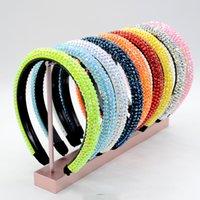 10 farben brandnew designer striBerry headband womens marke seide stirnbänder gute qualität erdbeerdesign haare kopf für