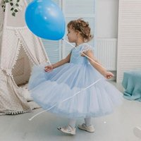 Girl' s Dresses Baby Girls Princess Clothes Child Lace S...
