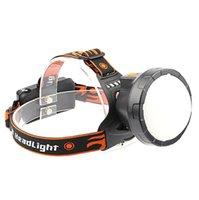 Bikeuchten wiederaufladbare LED-Scheinwerfer Fahrrad USB wasserdicht Camping Reiten Miner-Lampensicherheit 35A8