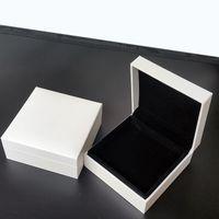 Cajas de joyería blanca originales con logo de la marca para Pandora Charms Pulsera y collar Caja de regalo al por menor de alta calidad