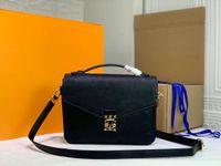 Высокое качество роскоши дизайнеры сумки сумки женские сумка мессенджера большие монограммы тиснение почета метиси