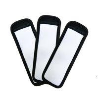 Ice Cream Tools Sublimation Blank Reusable Neoprene Popsicle Holder Insulator Sleeves Freezer Holders Antifreezing Sleeve Bags DAP371