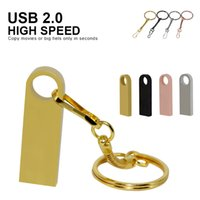 Key Mini USB flash Drive 512mb 64GB 32GB 16GB 8GB 4GB Metal Pen Drive Pendrive Memory Cle Stick