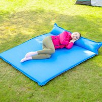 Outdoor Pads 160cm Widened Air Cushion Automatic Inflatable Mattress For Sleep Soft Bed Camping Lunch Break 2-3 People Equipment