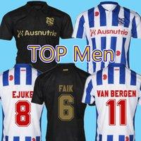 SC Heerenveen Futbol Forması 2020 2021 De Superfriezen Eve Uzakta Veerman Meier Dresevic Kongolo Nygren Erkekler Kids Kiti Futbol Gömlek