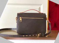 "LV ""Louis"" Borsa Vitton ""Vutton BB Women Handbag Messenger Bag Designer Designer Crossbody Pelle Metis Elegante Borse Designer Borse"
