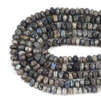 Pierre flash irrégulière naturelle Coupe spéciale Véritable perles d'espacement en vrac pour bricolage bijoux fabrication de bracelets charmes accessoires