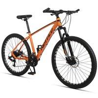 27.5 인치 24 스피드 망 산악 자전거 알루미늄 프레임 무료 수리 도구 펌프가있는 듀얼 디스크 브레이크 성인용 자전거