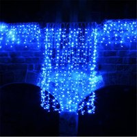 Strings 5M Wave Stripe Window Decoration Curtain Led Wedding Fairy Lights Christmas Outdoor Waterproof Garden Grass Home H-24