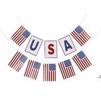 Banner أعلام أيام الاستقلال سحب العلم تحت عنوان حزب ديكور الأمريكي اليوم الوطني سلسلة الرايات لافتات المشهد تخطيط DWB7374