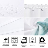 Music Shower Curtain, Musical Notes On The Clef Illustration Ornamental Pattern Artwork Print, Cloth Fabric Bathroom Decor Curtains