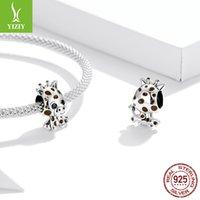 Bamoer аутентичные 925 стерлингового серебра детское жираф шарм для оригинального серебра DIY браслет или браслет ювелирные изделия Make SCC1691 2025 Q2