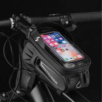 ThinkRider Bike Bag Frame Front Top Tube Cycling Bags Waterproof 6.6in Phone Case Touchscreen Bag Pack Bicycle equipment