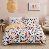 Bedding Sets Fashion Printing Home Textile Three-piece Pillowcase Cotton