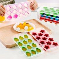 NewMoldes de Silicona Eisgitter Epoxidharz Formen Kuchen Dekorieren Versorgung Strawberry Orange Sterne Formen Silikon Seifenform Safe EWD7860