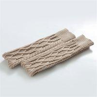 Femmes coton cuisse hauteur chaussettes d'automne hiver double rhomboïde tricot sur le genou bas la femme chaleureuse 19 5mx J2