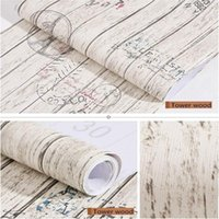 Peel And Stick Wallpaper Tower Wood Grain Vintage Wall Paper Decorative Self Adhesive WalCoverings Shelf Liner Roll Wallpapers
