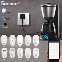Smart Home Control Sonoff S26 / Mini Plug Eu-E / EU-F / UK / AU / US / BR / IT / IL / CH / CN TIMER TIMER WIFI Удаленный выключатель мощности для Alexa Google