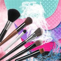 Makeup Brushes Silicone Brush Cleaner Foundation Scrubber Board Pad Make Up Washing Gel Cleaning Mat Hand Tool