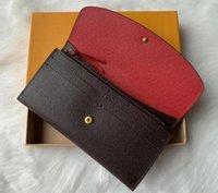 أفضل أكياس هدايا عيد المصممين جلد عملة محفظة 9 ألوان ماركة مخلب محفظة المرأة حامل بطاقة الأزياء سيدة حقيبة