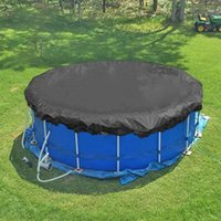 Pool & Accessories 210D Cover Outdoor Round Leaf Proof Cloth Tarpaulin Water Resistant Portable Protective Mat