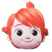 코코 멜론 어린이 유치원 할로윈 파티 코스프레 마스크 작은 소년 JJ 만화 얼굴 마스크 선물 축제 소품 G52ZMES