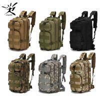 1000D Nylon taktischer Rucksack Militär Rucksack Wasserdichte Armee Rucksack Outdoor Sports Camping Wandern Angeln Jagd 28l Bag y200920