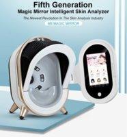 جديد وصول 20 مليون بكسل محلل الجلد الوجه غزالة 3D تحليل الجلد آلة الجمال مرآة سحرية مع الوجه اختبار الرطوبة القلم