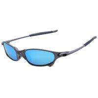 Bike Polarized Wholesale-Original Cycling Glasses Men Aolly Romeo Juliet X Metal Riding Sunglasses Goggles MTB
