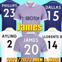 2021 Leeds United Soccer Tebacry Jerseys James Phillips Greenwood Llorente Dallas Aling T.Roberts Harrison Rodrigo M Raphinha 21 22 Мужчины Детские наборы футбольной рубашки Maillot