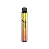 Yuoto luscious 3000puff engångs-e cigaretter kit 8ml förfylld pods patron vs vcan topp bang xxl puff plus vapen penna varmförsäljning