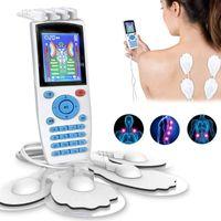 Elektrische Massagers 16 Modi Ems Eletric Compex Muscle Stimulator Ten Machine Acupunctuur Pad Fysiotherapie Body Massager ElectroEstimulador