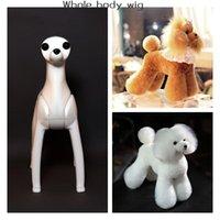 Pflege Modell Hund Groomer Trimmen Praxis Verwenden Sie Teddy Bear Perücke, kaufen Sie 5 Stück Pelz erhalten 1 Kostenlose Mannequin-Bekleidung