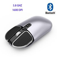 Mice M203 Wireless Bluetooth-compatible Mouse Rechargeable Computer Silent Mause Backlit Ergonomic Gaming For Laptop PC