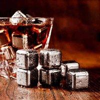 얼음 양동이와 쿨러 4pcs / 세트 골드 큐브 냉동 금형 세트 스테인레스 스틸 금속 모델 집게 커피 음료 위스키 바 와인 돌 크리 에이 티브 용품 HHE341 G02W