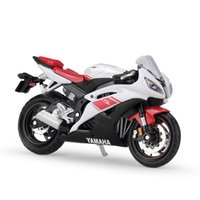 118 Scale YAMAHA YZF-R6 Alloy Motorcycle Diecast Bike Car Model Toy Collection Mini Moto Gift