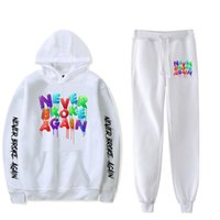 Youngboy Never Broke Again Women Tracksuits Fashion Long Sleeved Hooded Sweater 2Pcs Men Tracksuit Hoodies Pants Hip Hop Sports Suit