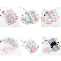 Blumenspitze Stickerei Maske Reiten Trübung Maske Staubschutz Anti Nebel Outdoor Gesicht Mund Waschbare Gesichtsmaske Großhandel