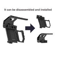 Sistema di adattatore a base di ferro tattico Sistema di adattamento rapido Mount di ricarica per G17 G18 G19 Accessori Kit Carbine 274 W2