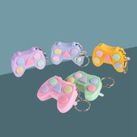 Fidget Juguetes Mini Manillar juego Llavero Juegos de memoria para niños Adultos Manillar Memoria Entrenamiento Maze Cubo Gadget Q71