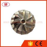 K16 31.20 / 44.00mm 7 + 7 lames Turbo Billette Compresseur Compresseur / en aluminium 2618 / Moulinage pour cartouche turbocharge / Chra / Core