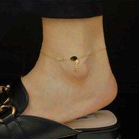 Charming Fish Bones Cadeia Anklets Atacado em massa de alta polida cor de ouro de aço inoxidável ankele pulseira para mulheres jóias do pé