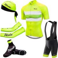 Phtxolue Велосипедные Набор Мужчин Дорожные Велосипедные Носить Дышащий Анти-УФ МТБ Велосипедная Одежда Короткая Рукав Джерси Устанавливает Одежда Racing