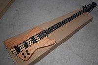 Thunderbird Klasik IV Burlywood Elektrik Bas Gitar Özel Tek Parça Set Boyun 4 Dizeleri Bas Gitar