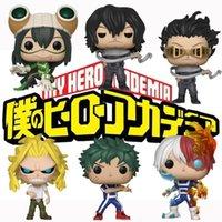Funko Pop Action Figure Your Hero Academia Deku, Цуку, Кацуки, все мощь, Тодороки Виниловая фигура Коллекция Модель Игрушки для детей подарок