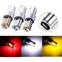10 pz / lotto Super Bright 1157 4014 45SMD Lampadine LED per auto Luci di rotazione luci freno luci inverso luci posteriori 12v
