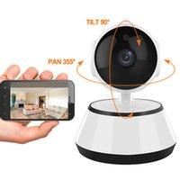 Security Home 720P Cámara IP inalámbrica inteligente WiFi Cámara Wi-Fi Night Vision Vigilancia Monitor de bebé HD Mini CCTV CAM V380