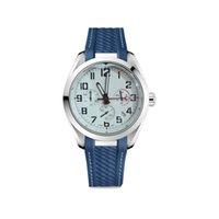 Maschio Sport Pilot Clock Mens Super Guardia Movimento al quarzo Cronometro Nero Cinturino in gomma nera e orologi da braccialetto in acciaio inox 1884 12 Numero orologio da polso