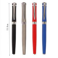 Brunnenstifte Hohe Qualität Retro Metall Pen Business Office Unterschrift Student Schul Schreibwaren Liefert Kawaii Geschenk